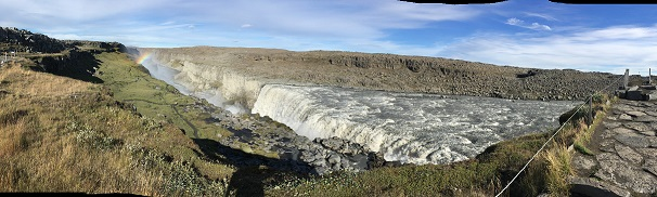 The most powerful waterfall in northern hemisphere